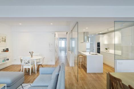 Verglaste Raumaufteilung: Mehr Tageslicht in allen Räumen