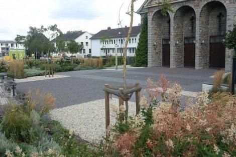 Kirchplatz Heilig-Geist