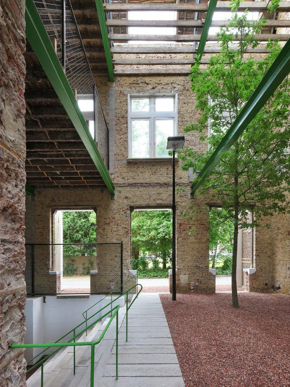 PC CARITAS – Melle, Belgium by architecten de vylder vinck taillieu