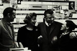 Blick hinter die Kulissen - Vitra Design Museum | Produktionsfoto der 1950er Jahre