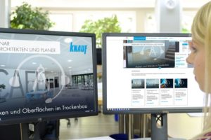 Deckensysteme Knauf Webinare für Architekten und Planer