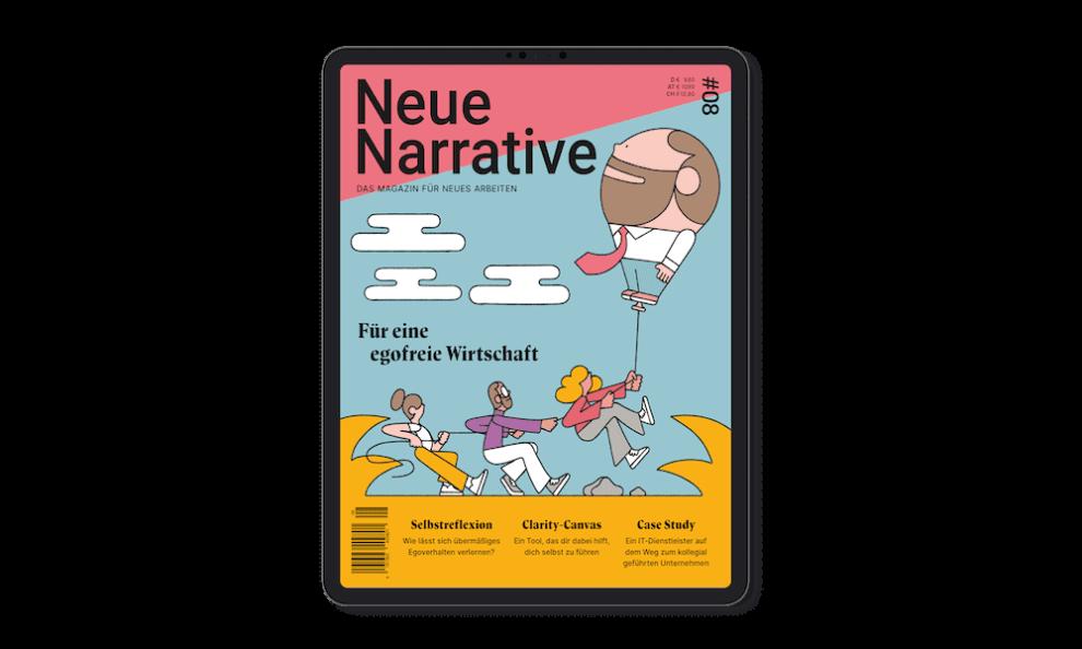 Cover Neue Narrative   Bild: Neue Narrative