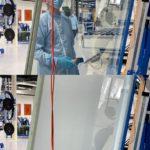 Produktion eyrise Sichtschutzgläser