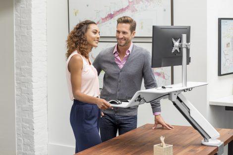 Gütesiegel für ergonomische Innovation Lotus RT Workstation
