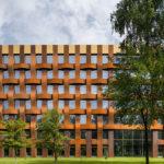 Südseite Bürogebäude Ferrum 1 von Tchoban Voss