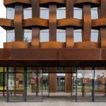 Eingangsbereich Bürogebäude Ferrum 1 von Tchoban Voss