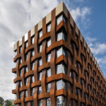 Schmalseite Bürogebäude Ferrum 1 von Tchoban Voss