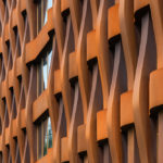Fassadendetail Bürogebäude Ferrum 1 von Tchoban Voss