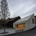 Neubau Haus des Weins Bindeglied Alt und Neubau