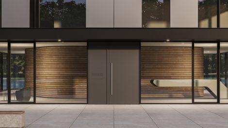 Türsysteme heroal D72 bietet Schallschutz und Wärmedämmung und Einbruchhemmung