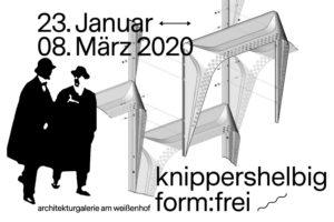Plakat zur Ausstellung form:frei