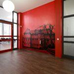 Haus B: Ansicht rot