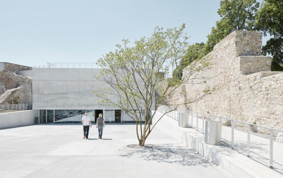 Bevk Perović arhitekti, Neue Galerie und Kasematten, AT, 2019 © Foto: David Schreyer