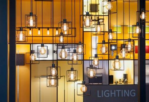 light + building