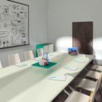 Besprechung im heder:LAB Think Tank (3D-Planung