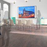 Präsentation im heder:LAB Think Tank (3D-Planung)