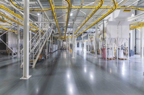 Furniture for Future - effiziente Dünnschicht-Pulverbeschichtungsanlage