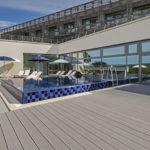 Terrasse Seezeitlodge Bodenbelag naturinform
