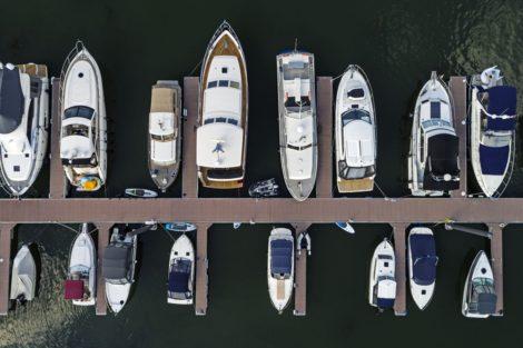 Mit dem Boot in die City