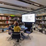 Designkonzept stellt den Werkstattcharakter mit nora systems Bodenbelag