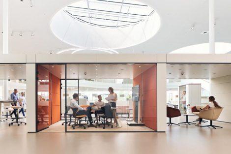 """Individuelles Arbeiten im """"Smart Office"""" von Sedus"""
