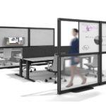 Raumtrennungssystem Open Wall Workshop, Fleischer Büromöbelwerk