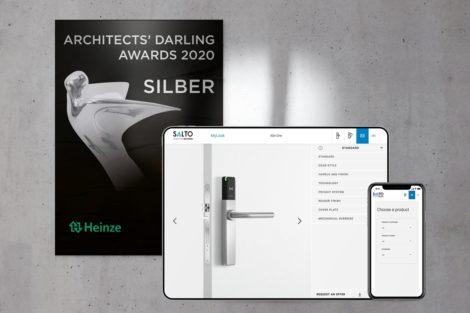 ARCHITECTS' DARLING AWARD für Online-Konfigurator MyLock