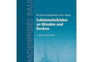 Cover zum Buch Schimmelschäden an Decken und Wände.   Bild: www.weltbild.de