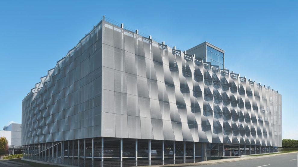 Fassadenkonzept Schüco Fassade Parkhaus