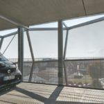 Parkdeck Belüftung Schüco Fassadendesign