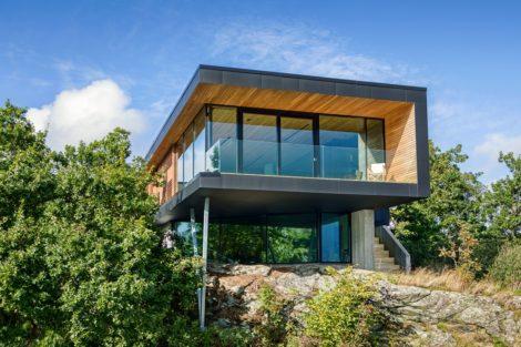 Inspiriert von der Natur - Architekt Tommie Wilhelmsen nahm Farben und Materialien des Naturraums auf