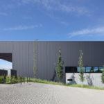 Außenansicht Halle Materiallager Welzheim