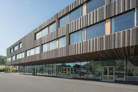 Das neue Schulzentrum in Gloggnitz