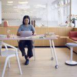 Arbeitsplatz mit se:lab von Sedus