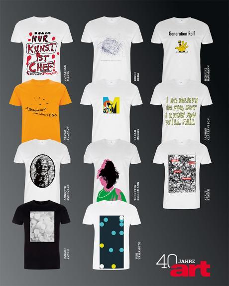 Artist Shirts im Überblick © art