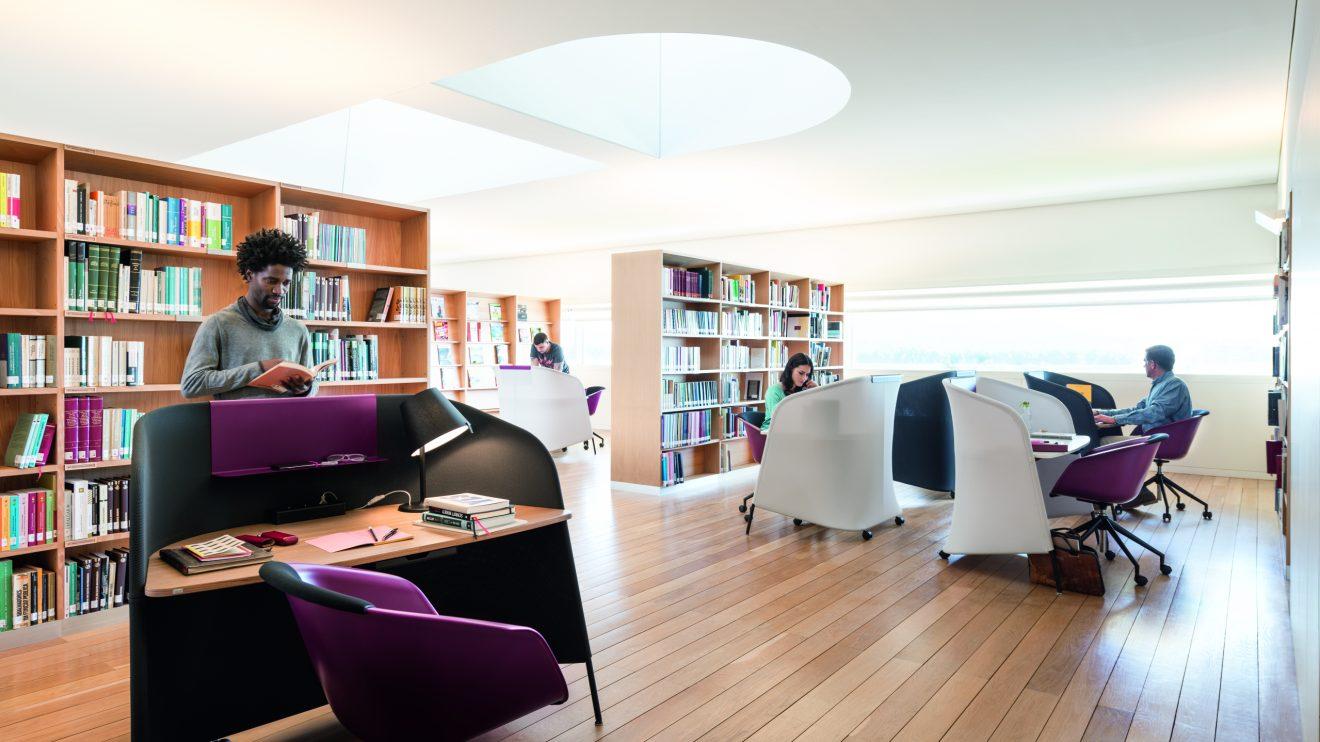 Milieu Bibliothek