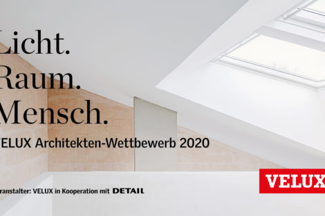 Einreichungen beim Velux Architekten-Wettbewerb ab sofort möglich