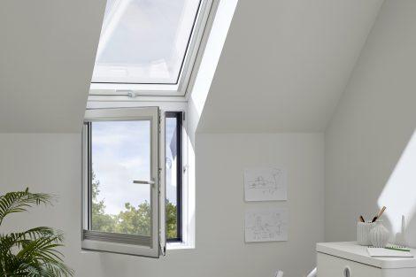Velux Lichtband künftig auch mit vollwertigem Fassadenfenster