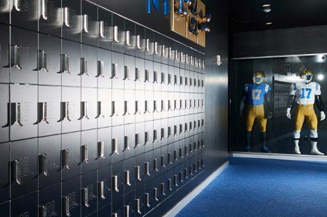 Umkleiden & Schließfachbereiche der UCLA, Los Angeles