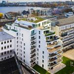 Wohngebäude in Hamburg von BAID, Außenansicht