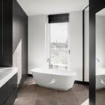 Wohngebäude in Hamburg von BAID, Badezimmer