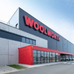 Haupteingang Logistik Woolworth